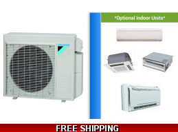 Daikin Custom Multi Zone Mini Split Ductless Cassette Ducted